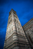 Giotto`s Campanile and Santa Maria del Fiore Cathedral, Duomo Stock Photos