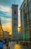 Giotto ` s Dzwonkowy wierza Florance Obraz Royalty Free