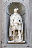 Giotto statue by Giovanni Dupre, Florence Stock Images