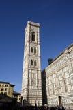 Giottos Glockenturm, Florenz, Italien Lizenzfreie Stockfotografie