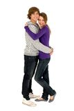 Giovane abbracciare delle coppie Fotografia Stock Libera da Diritti