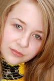 Giovane adolescente femminile di Headshot Fotografie Stock Libere da Diritti
