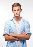 Giovane adolescente maschio bello Fotografia Stock Libera da Diritti