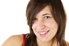 Giovane, adolescente sorridente Fotografie Stock