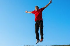 Giovane allenamento teenager bello Fotografia Stock Libera da Diritti