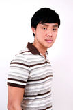 Giovane allievo asiatico. Immagini Stock Libere da Diritti