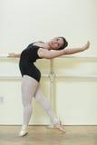 Giovane allievo di balletto Immagine Stock Libera da Diritti
