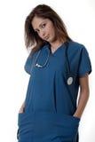 Giovane allievo di professione d'infermiera Immagine Stock