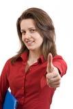 Giovane allievo femminile Fotografie Stock Libere da Diritti