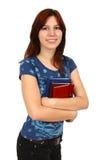 Giovane allievo femminile attraente Immagine Stock Libera da Diritti
