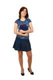 Giovane allievo femminile attraente Immagine Stock