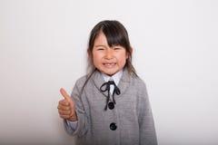Giovane allievo giapponese Immagine Stock Libera da Diritti