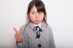 Giovane allievo giapponese Immagine Stock