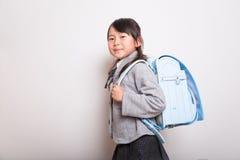 Giovane allievo giapponese Fotografia Stock