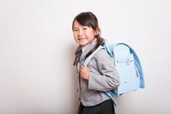 Giovane allievo giapponese Fotografie Stock