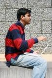 Giovane allievo indiano. Immagini Stock Libere da Diritti