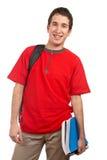 Giovane allievo sorridente Immagine Stock Libera da Diritti