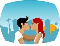 Giovane amore Fotografia Stock