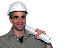 Giovane architetto sicuro Fotografie Stock