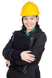 Giovane assistente tecnico attraente Immagine Stock