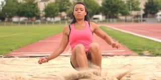 Giovane atleta Fotografie Stock Libere da Diritti