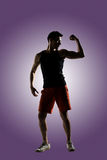 Giovane atleta maschio fotografia stock