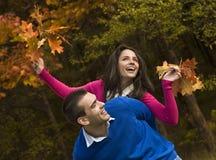 Giovane autunno Fotografia Stock