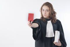 Giovane avvocato Fotografia Stock Libera da Diritti