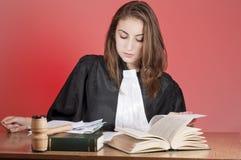 Giovane avvocato Immagine Stock Libera da Diritti