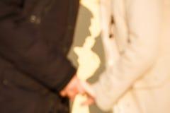 Giovane baciare delle coppie Fotografie Stock Libere da Diritti