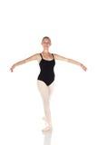 Giovane ballerina caucasica Fotografie Stock