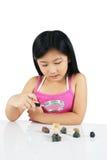 Giovane bambino asiatico 008 Fotografia Stock Libera da Diritti