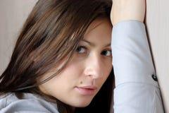 Giovane bella donna. immagine stock