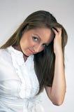 Giovane bella donna Fotografie Stock