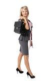 Giovane bella donna di affari Immagine Stock