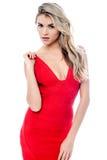 Giovane bella donna elegante alla moda Immagine Stock