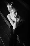 Giovane bella donna nuda Fotografia Stock Libera da Diritti