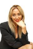 Giovane bella e donna di affari sexy Immagine Stock