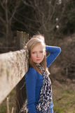 Giovane bella ragazza Fotografie Stock