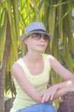 Giovane bella ragazza Immagine Stock