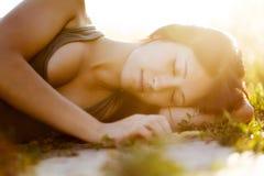 Bella addormentata Immagini Stock Libere da Diritti