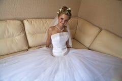 Giovane bella sposa Immagine Stock Libera da Diritti
