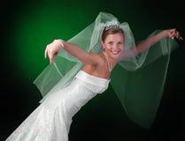 Giovane bella sposa Immagini Stock