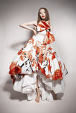 Giovane bello castana asiatico in vestito splendido Fotografie Stock