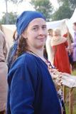 Giovane bello della donna ritratto all'aperto Immagini Stock Libere da Diritti