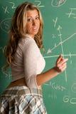 Giovane bello insegnante Fotografia Stock