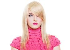 Giovane blonde attraente immagini stock libere da diritti