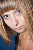 Giovane blonde del ritratto Fotografia Stock Libera da Diritti