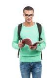 Giovane borsa di trasporto sorridente dello studente Immagine Stock Libera da Diritti