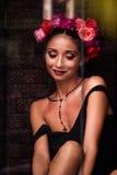 Giovane brunette attraente Immagine Stock